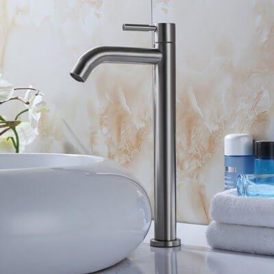 Cold basin faucet