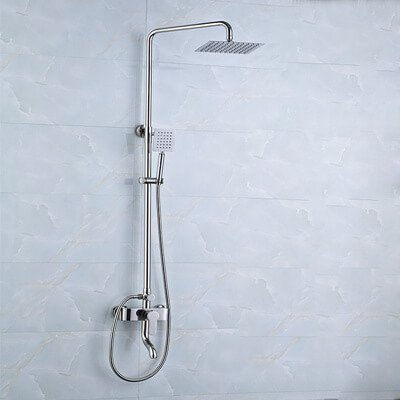 Stainless steel tap shower