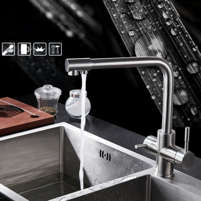 Kitchen filter tap mixer