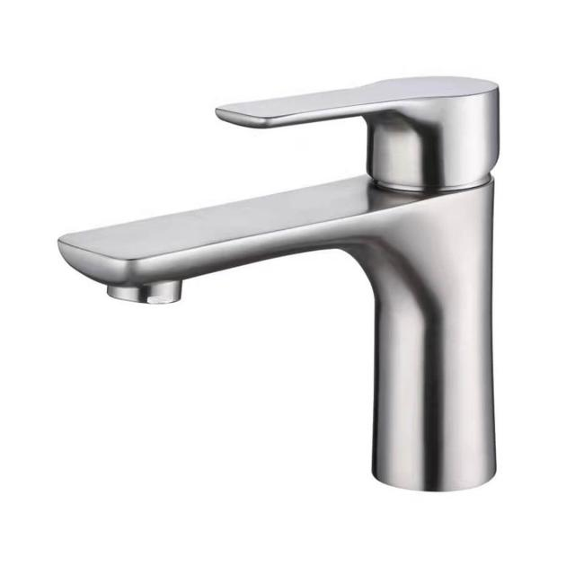 Faucet manufacturer red blue logo